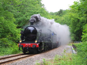 The Steam Train - Credit Simon Fosbury